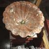 Ref. 44 – Marmeren wasbak in schelpenvorm foto 2