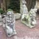 Ref. 07 – Stel Brabantse brullende leeuwen foto 1