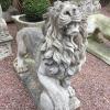 Ref. 07 – Stel Brabantse brullende leeuwen foto 2