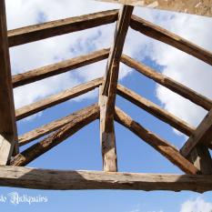 Ref. 17 – Antieke balkenplafond