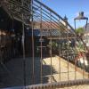 Ref. 61 – Antieke smeedijzeren halve muurserre foto 2 Ref. 61 – Antieke smeedijzeren halve muurserre foto 2