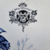 Ref. 49 – Handbeschilderde porseleinen spoelbak foto 2