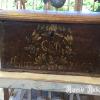 Ref. 61 – Antieke eikenhouten bruidskoffer foto 3