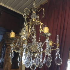 Ref. 19 – Exclusieve Franse Rococo hanglamp foto 1