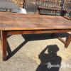 Ref. 24 – Antieke Ardeense landelijke tafel foto 2