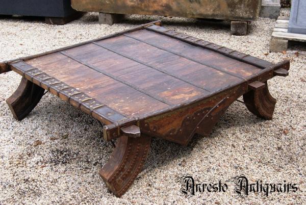 Ref. 25 – Antieke opiumtafel foto 1
