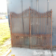 Ref. 111 – Antieke 2-vleugelige smeedijzeren poort