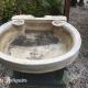Ref. 59 – Antieke carrara marmeren wasbak foto 1