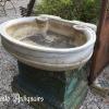 Ref. 59 – Antieke carrara marmeren wasbak foto 2