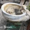 Ref. 59 – Antieke carrara marmeren wasbak foto 3